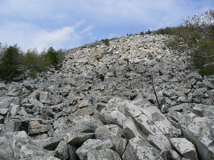 Boulder Field at Devil's Marbleyard