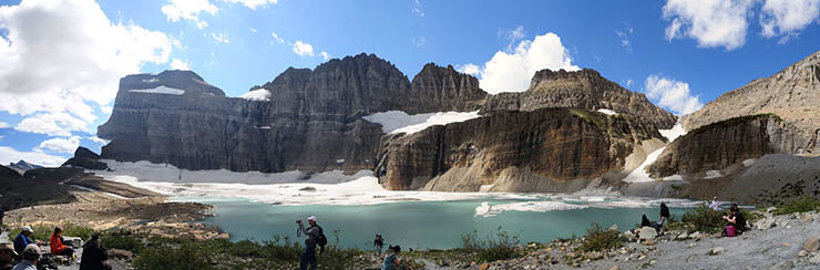 Endless Views at Grinnell Glacier