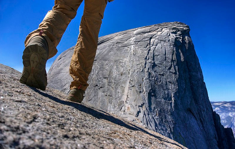 Half Dome Cables Route - Yosemite National Park