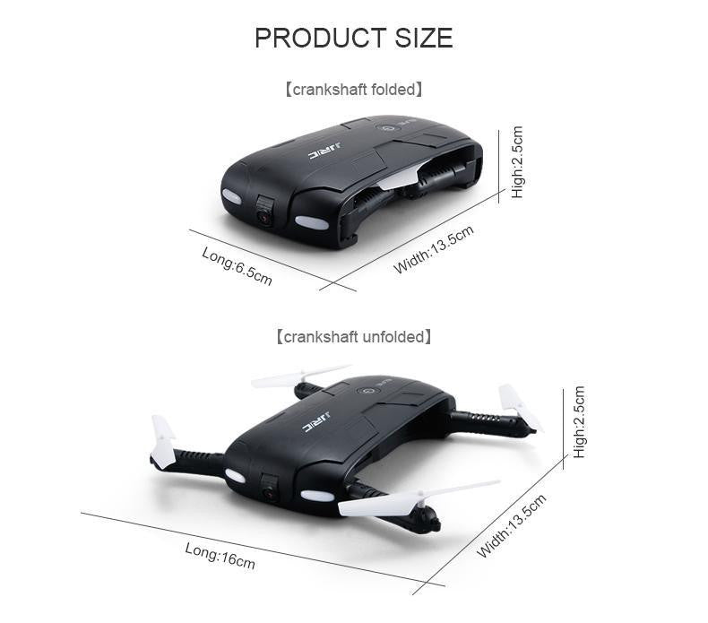 Folding Pocket Drone with Camera.
