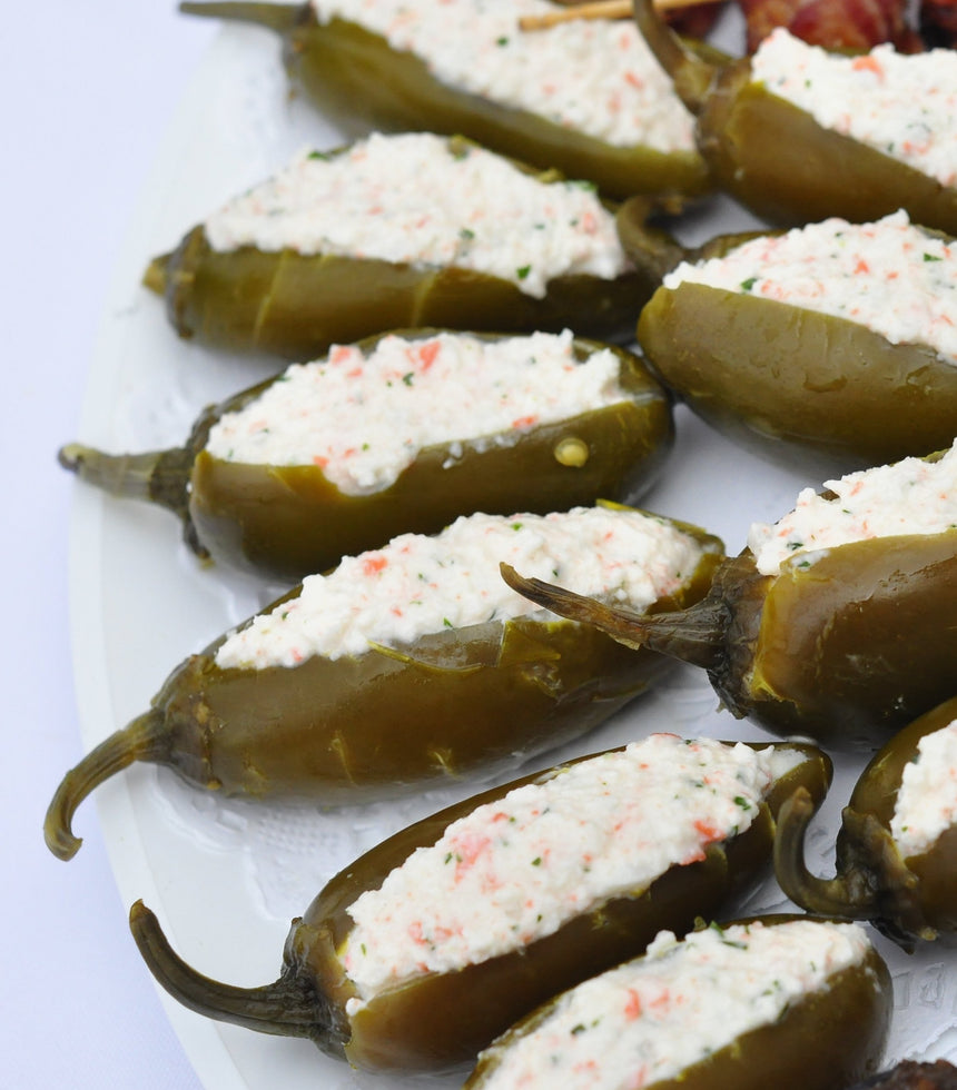 Charola Sandwichitos con Jalapeños