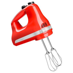 KitchenAid® 5-Speed Ultra Power™ Hand Mixer, Hot Sauce (KHM512HT)