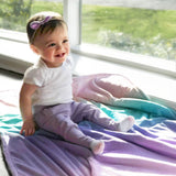 *** NEW Plush Blanket - Ombre Multi-Colored