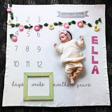 Hello Spud Little Photo Blanket - Milestone Blanket