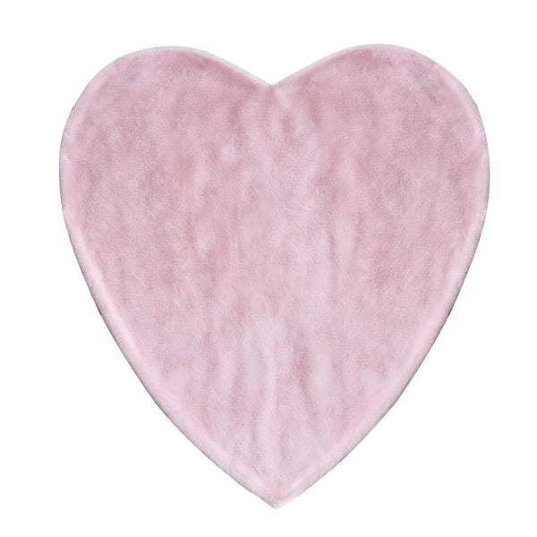 Hello Spud Shape Blanket Plush Pink Heart