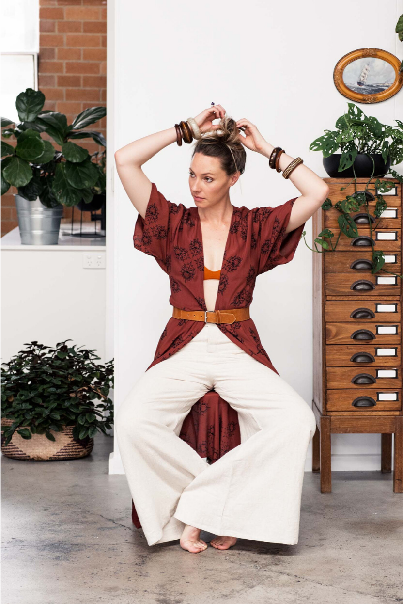 The Fashion Advocate Folktribe The Label ethical sustainable womenswear online vegan dresses hemp pants