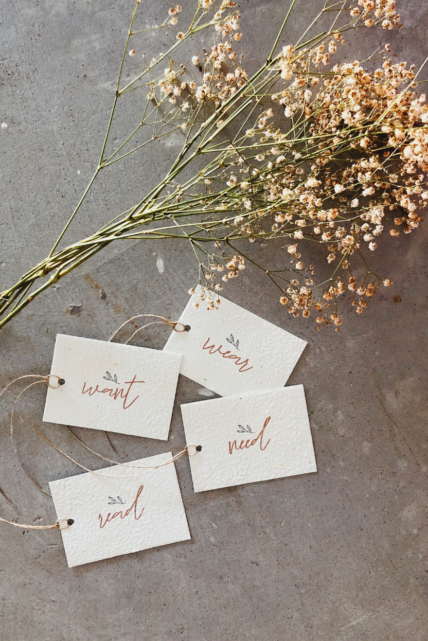 The Fashion Advocate hand made petal cards plantable sustainable gifting Hello Petal