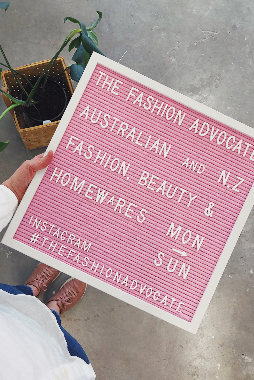 BLOG The Fashion Advocate ethical and sustainable Australian and New Zealand womens fashion, beauty and lifestyle homewares shop Melbourne bayside Beaumaris