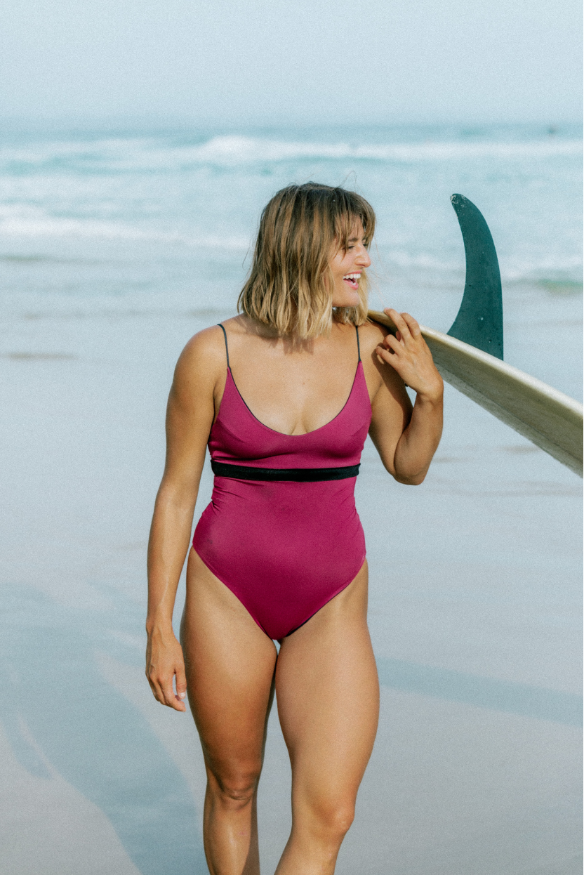 U & I label Australian made ethical recycled womens swimwear and surfwear