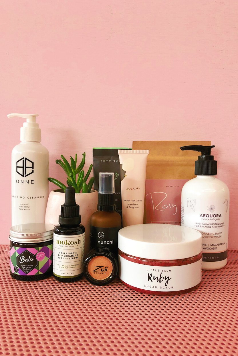 Our Vegan Beauty Babe Australian Made Beauty Box is packed with ethical and sustainable goodies