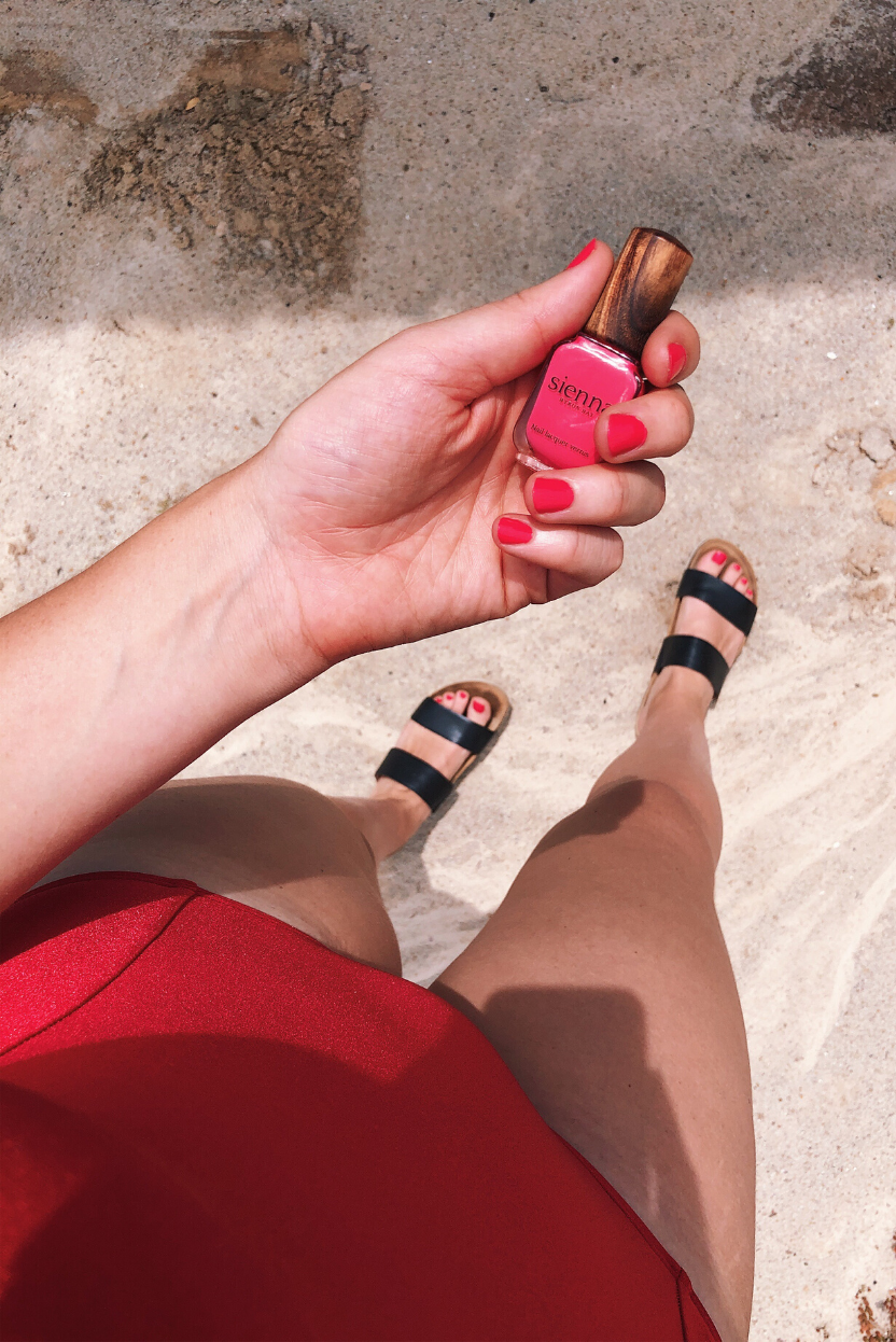 The Fashion Advocate Sienna Byron Bay Toxin Free Nail polish made in Australia clean beauty