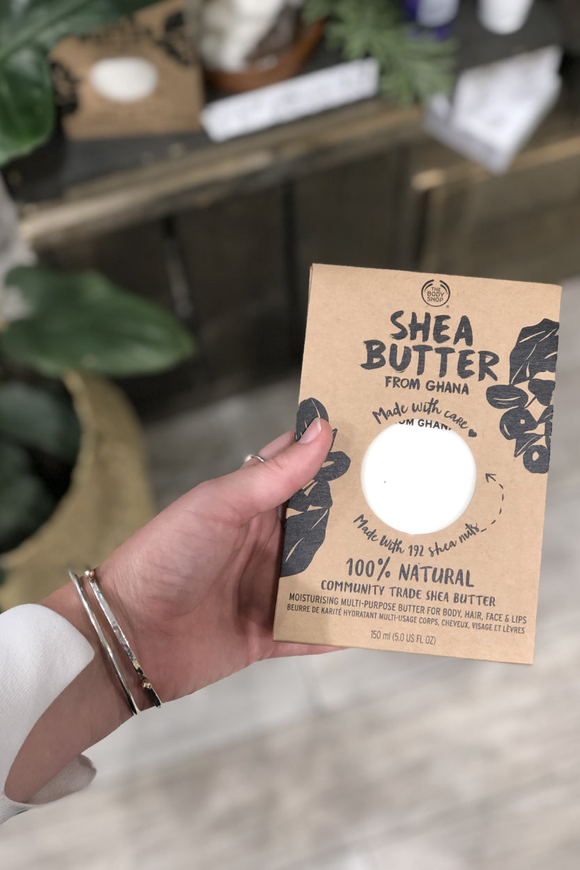 The Body Shop vegan natural shea butter ethical fairtrade beauty The Fashion Advocate