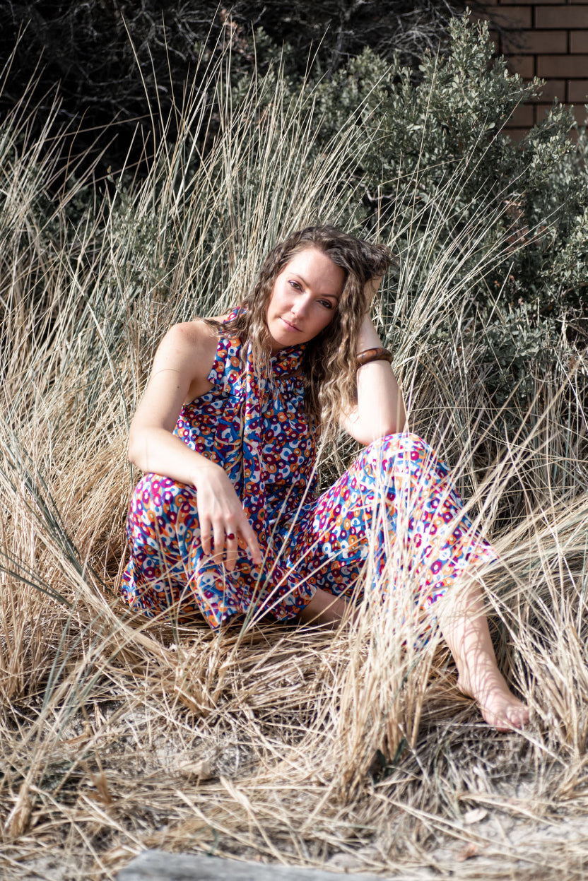 The Fashion Advocate Australian made indigenous womens jumpsuit fashion online