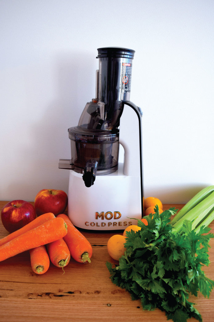 Make it through winter with a Mod Cold Press Juicer, The Fashion Advocate shop local