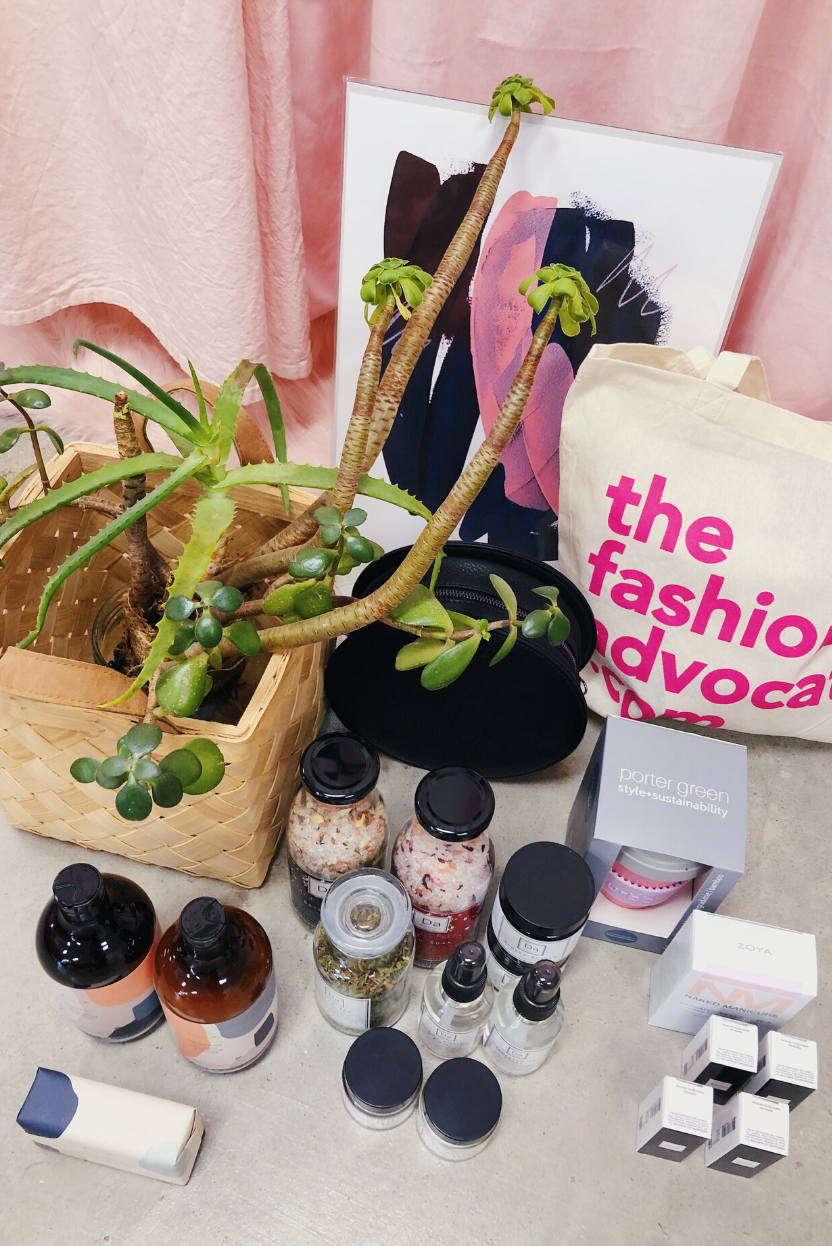 The Fashion Advocate natural beauty giveaway competition Instagram