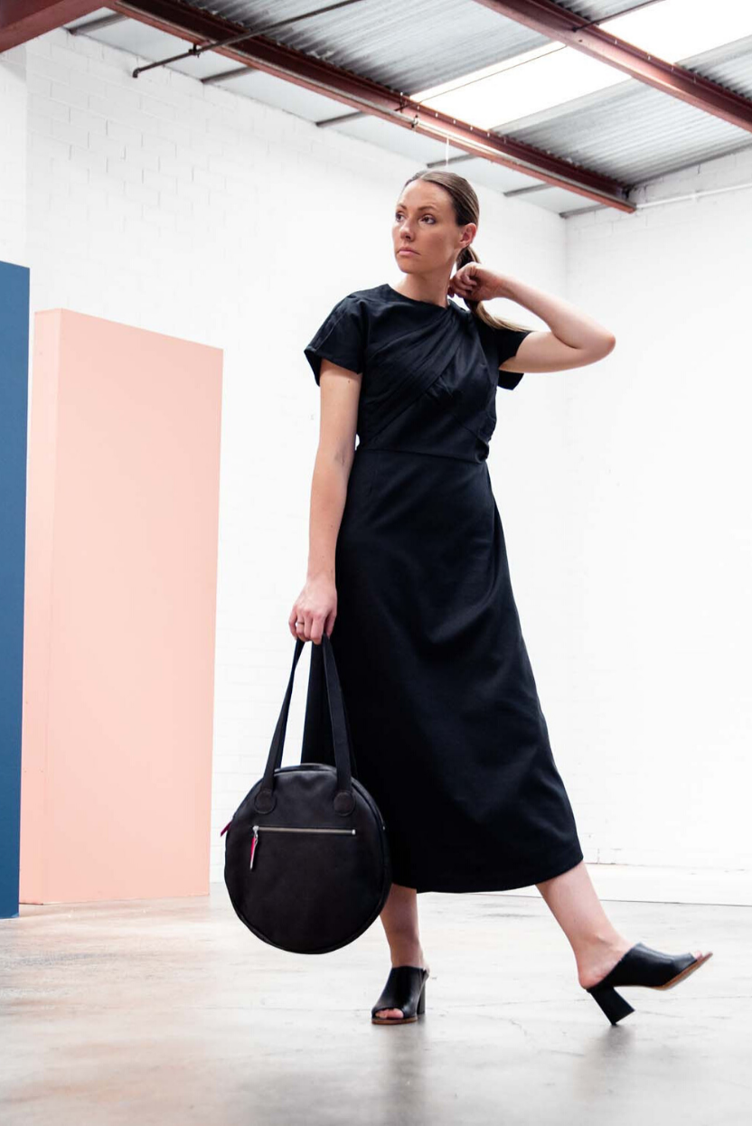 SMENA Meet The Maker Designer interview The Fashion Advocate ethical sustainable leather zero waste made in Melbourne