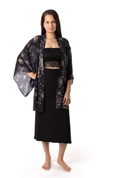 Kerry Kimono Short Jackets The Fashion Advocate ethical Australian fashion designer boutique Melbourne sustainable clothes