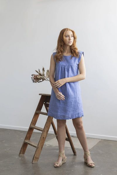 Dandelion Dress Dresses The Fashion Advocate ethical Australian fashion designer boutique Melbourne sustainable clothes