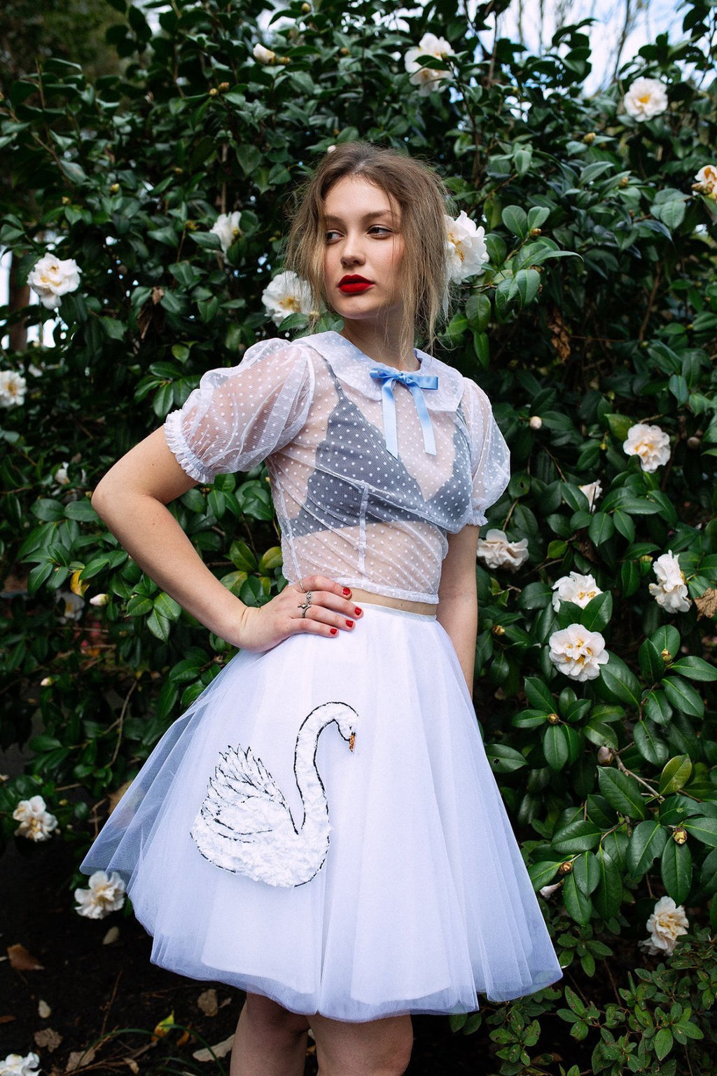 For Love Skirt Skirts The Fashion Advocate ethical Australian fashion designer boutique Melbourne sustainable clothes