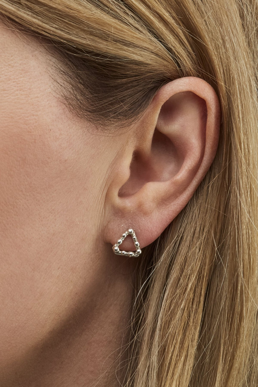 Small Flora Bud Studs-Meg Watson Jewellery-THE FASHION ADVOCATE-ethical sustainable Australian womens fashion online