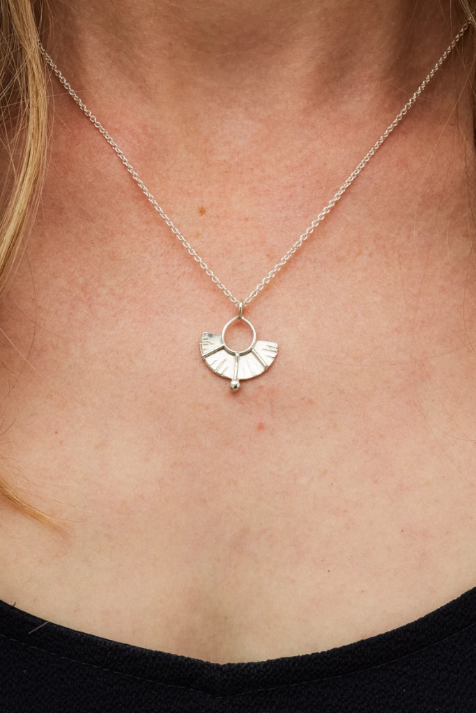 Juno Necklace Jewellery Ethical Sustainable Vegan Organic Australian fashion womens clothes