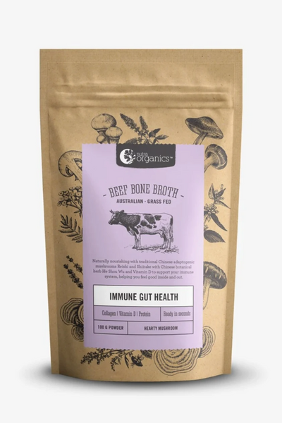 Beef Bone Broth Hearty Mushroom 100g