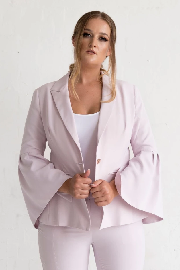 Ice Orchid Jacket Jackets The Fashion Advocate ethical Australian fashion designer boutique Melbourne sustainable clothes