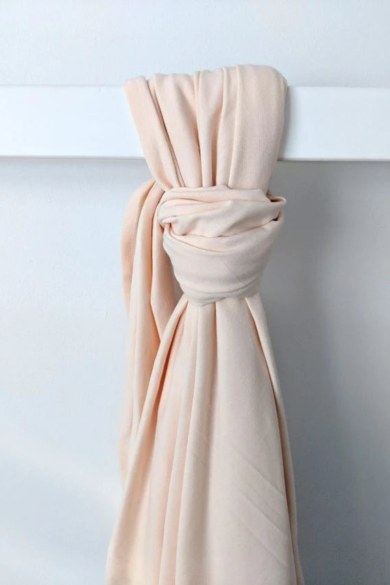 Organic Cotton Pink Baby Wrap Linen + bedding Ethical Sustainable Vegan Organic Australian fashion womens clothes