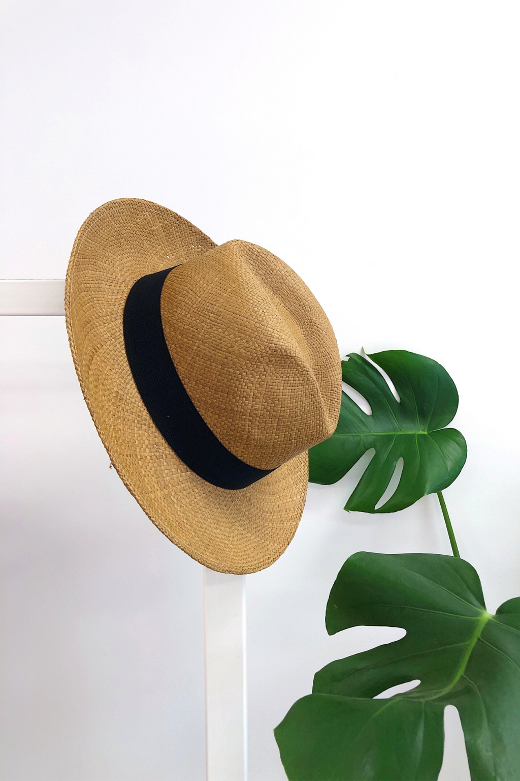 Tobacco Fedora Panama Hat Hats The Fashion Advocate ethical Australian fashion designer boutique Melbourne sustainable clothes