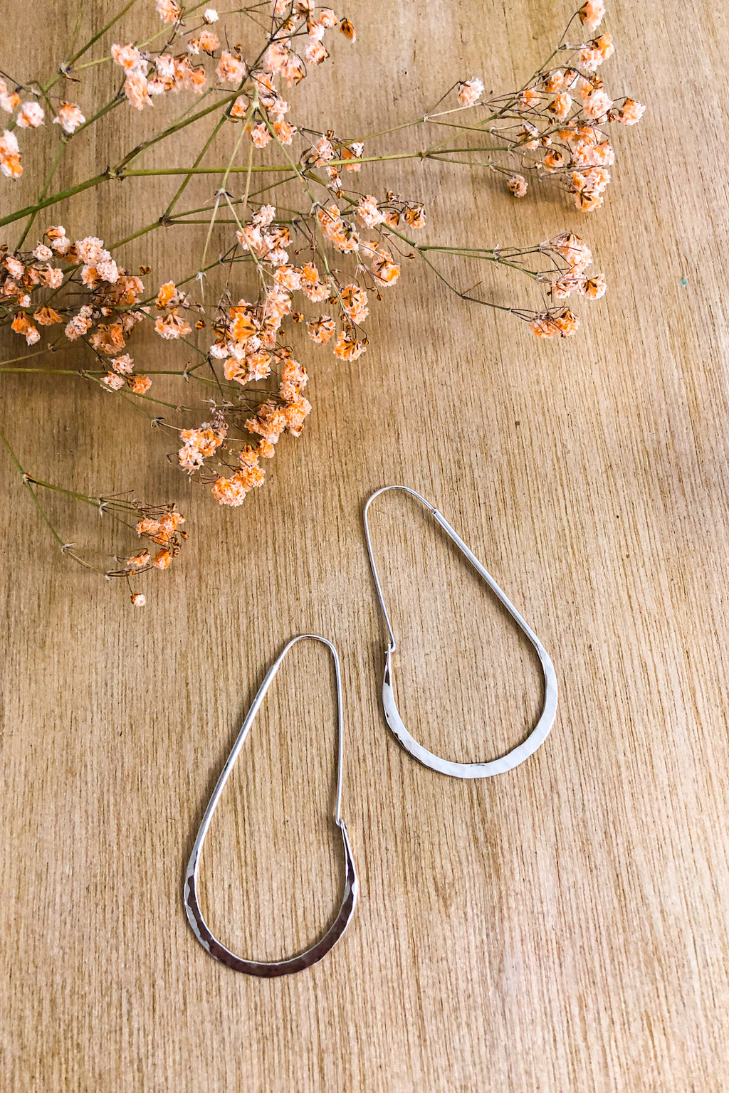 Battered Horseshoe Hoop Earrings Jewellery The Fashion Advocate ethical Australian fashion designer boutique Melbourne sustainable clothes