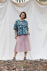 Dusty Pink Olesya Culotte Pants The Fashion Advocate ethical Australian fashion designer boutique Melbourne sustainable clothes