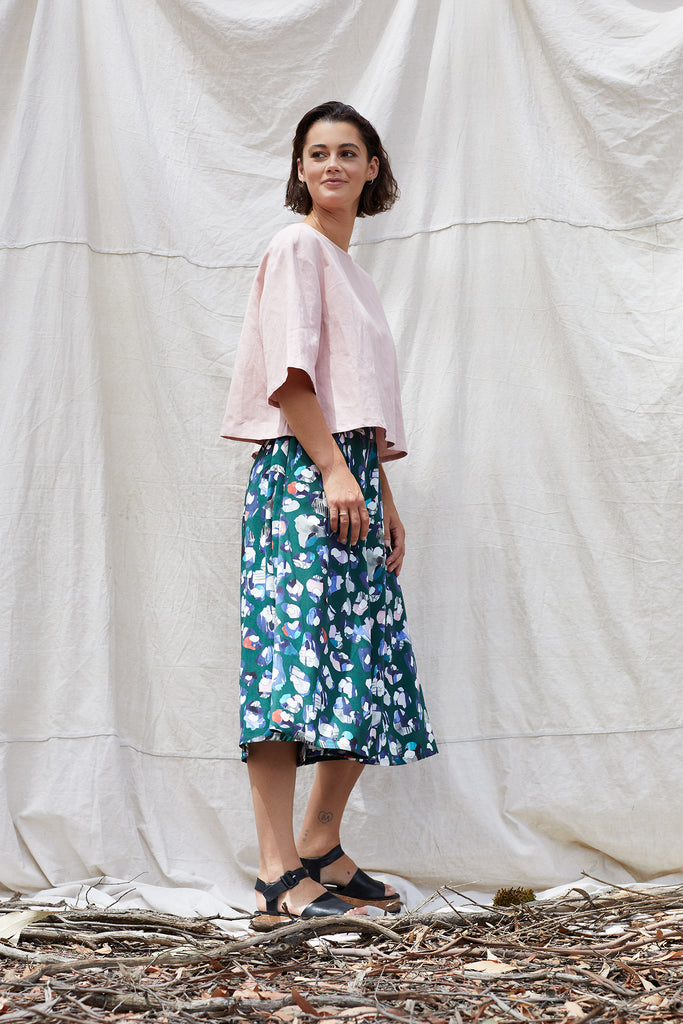 Into The Wild Olesya Culotte Pants The Fashion Advocate ethical Australian fashion designer boutique Melbourne sustainable clothes