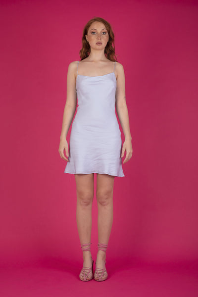 Gia Mini Dress Icy Blue