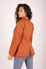 Sweet Potato Kaia Blazer Jackets Ethical Sustainable Vegan Organic Australian fashion womens clothes