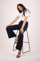 Brooklyn Flare Pant - Midnight Pant The Fashion Advocate ethical Australian fashion designer boutique Melbourne sustainable clothes