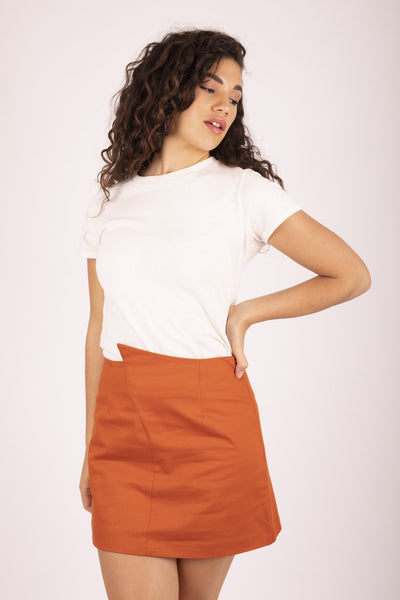 Frankie Skirt - Sweet Potato Skirt The Fashion Advocate ethical Australian fashion designer boutique Melbourne sustainable clothes