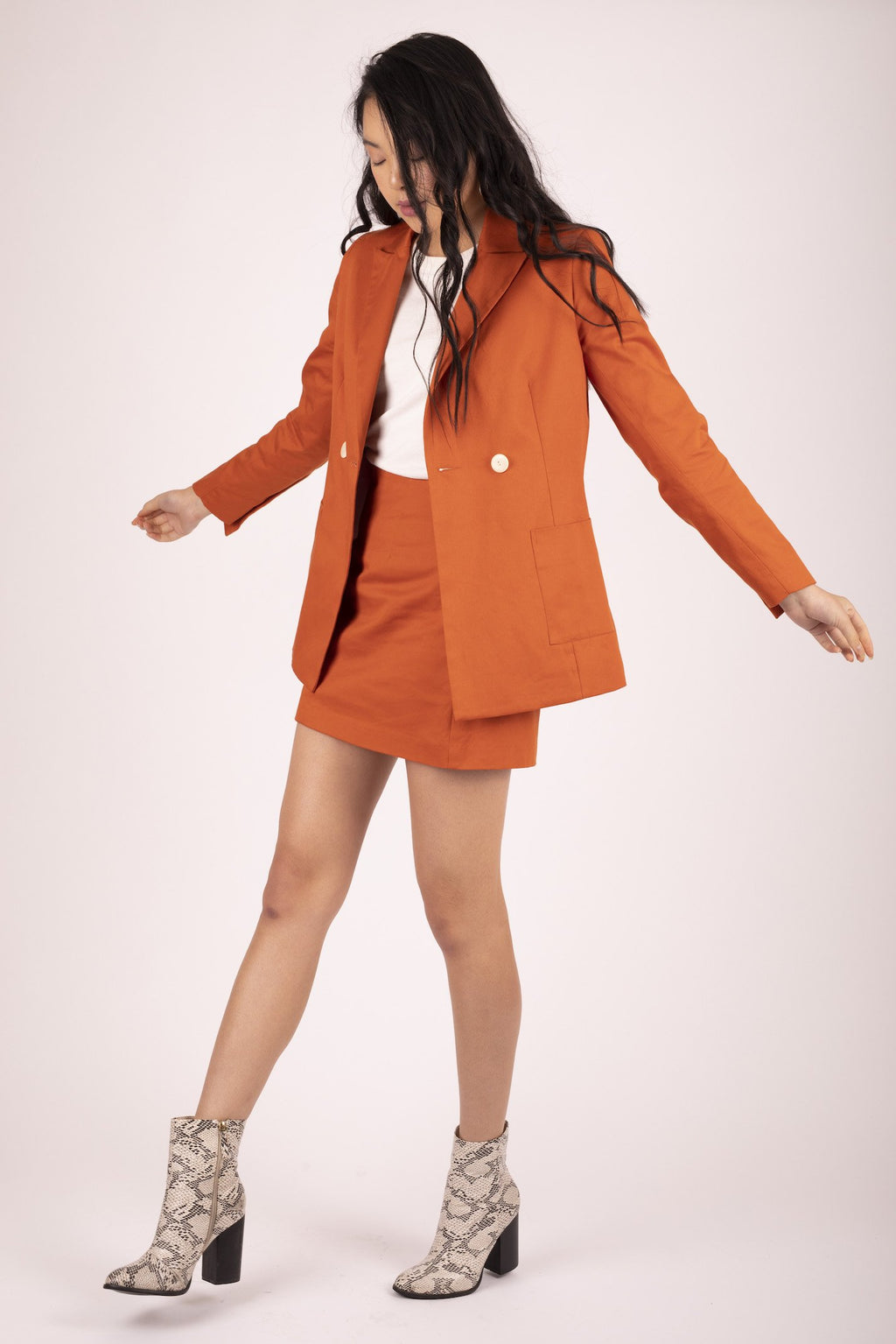 Sweet Potato Kaia Blazer Jackets The Fashion Advocate ethical Australian fashion designer boutique Melbourne sustainable clothes