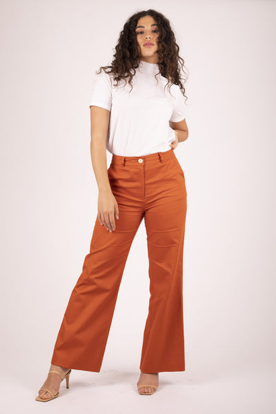 Sweet Potato Brooklyn Flare Pant Pants The Fashion Advocate ethical Australian fashion designer boutique Melbourne sustainable clothes