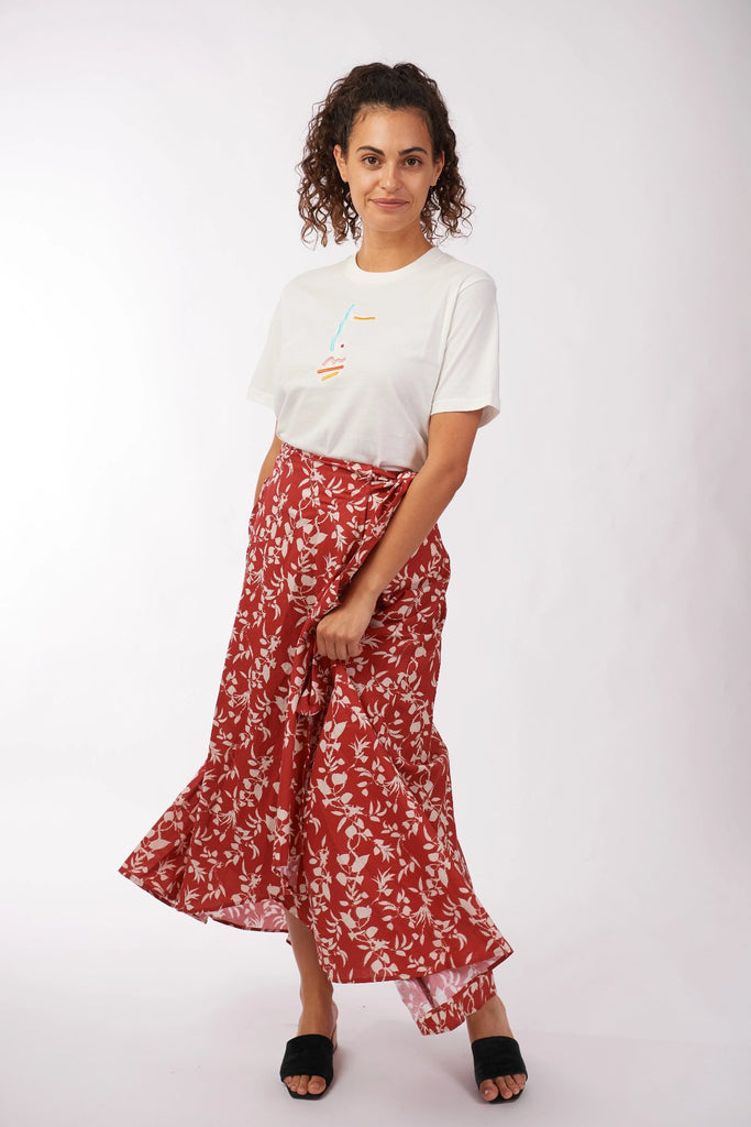 Myrah Wrap Skirt Skirts Ethical Sustainable Vegan Organic Australian fashion womens clothes