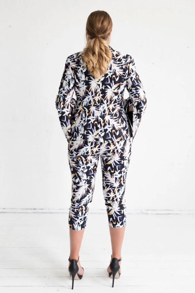 Cosmos Print Orchid Jacket