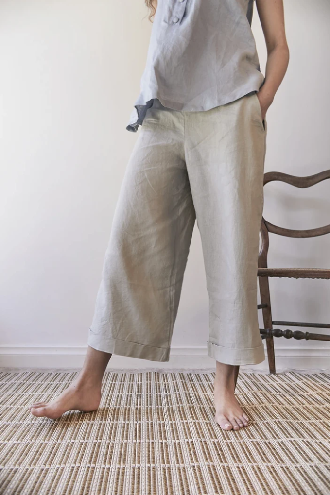 Hollyhock Pants Green