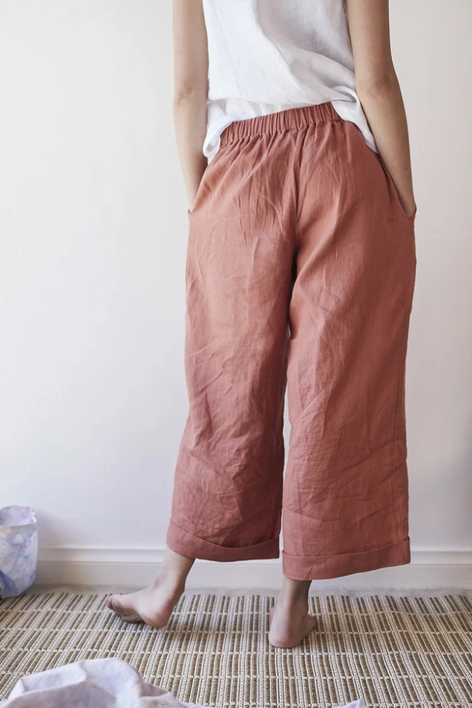 Hollyhock Pants Red Clay