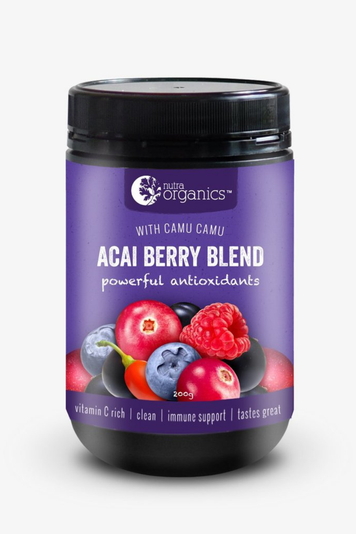 Acai Berry Blend Nutra Organics health beauty food online