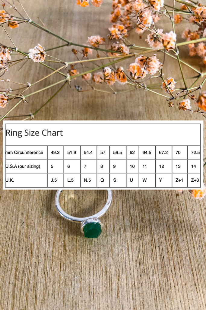 Turquoise Fine Twist Ring Jewellery Ethical Sustainable Vegan Organic Australian fashion womens clothes