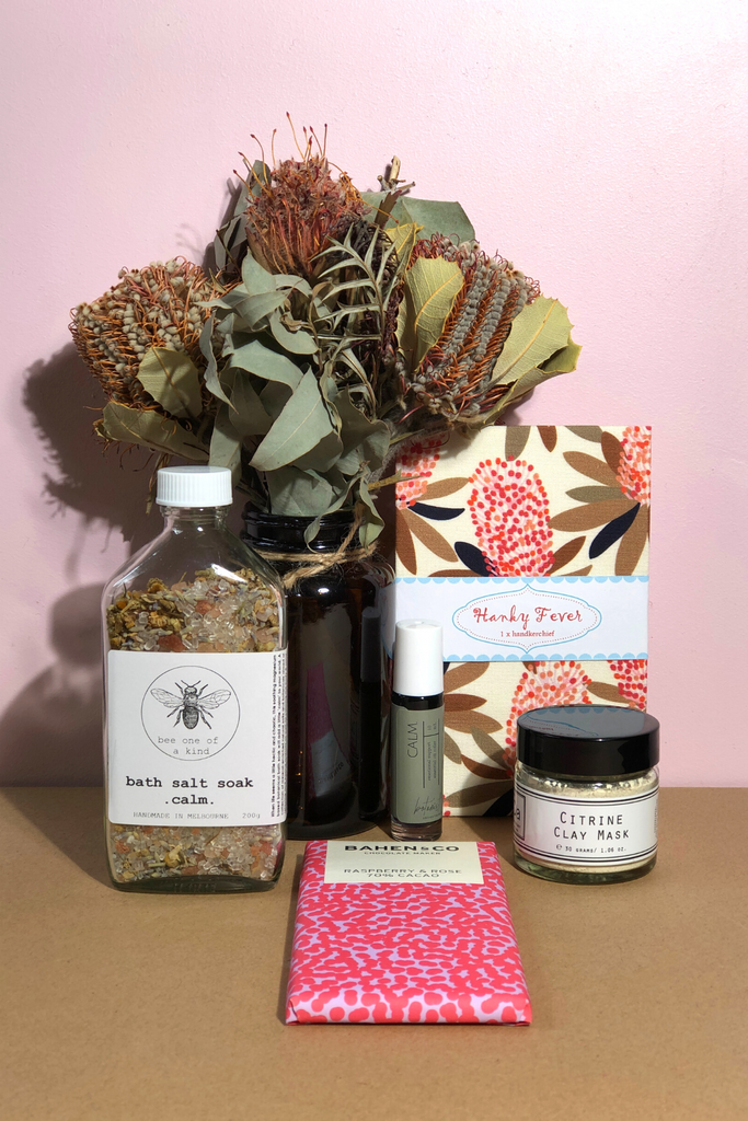 Australian Made Pamper Pack Ethical Sustainable Gift Box