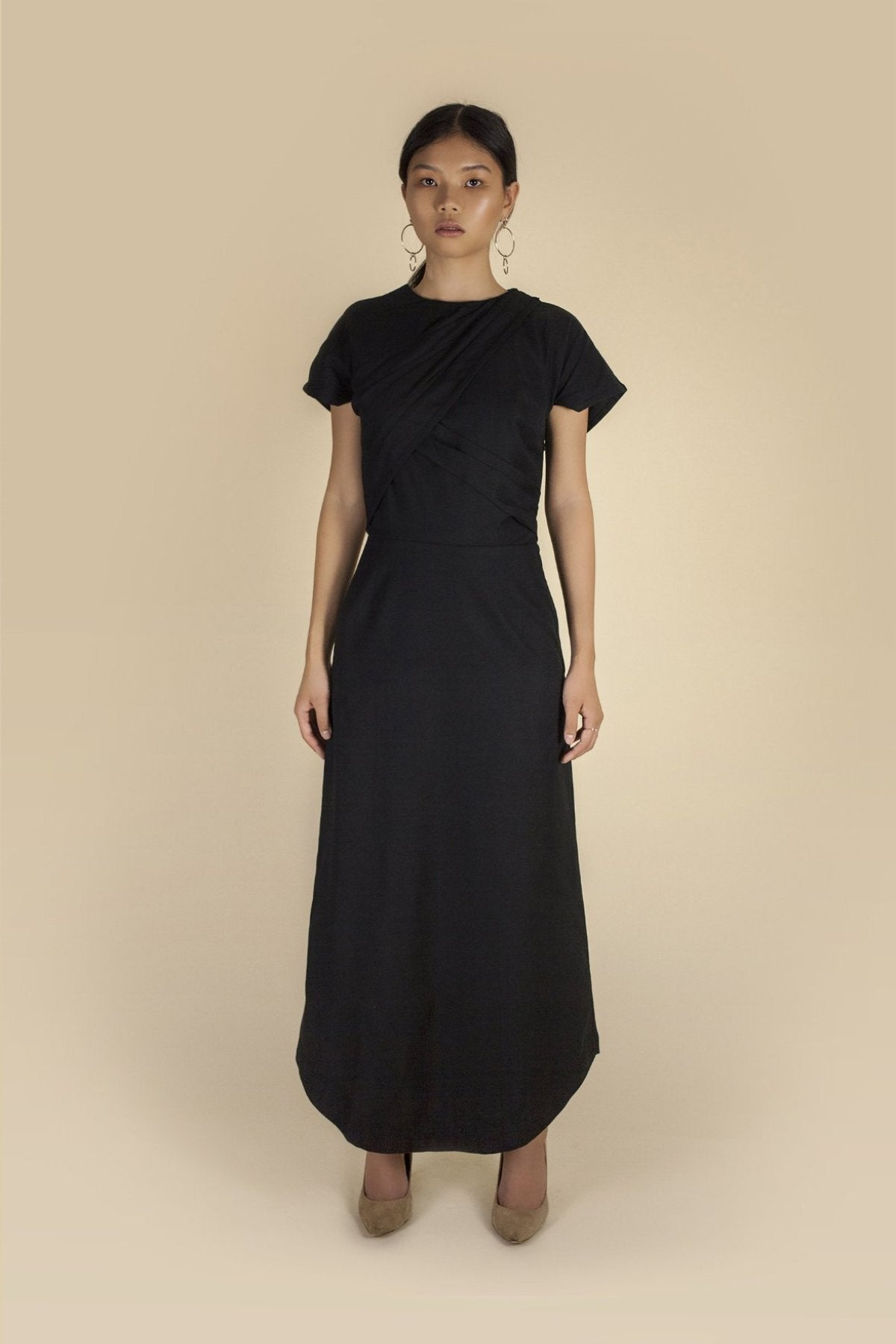 Coev Dress Dresses The Fashion Advocate ethical Australian fashion designer boutique Melbourne sustainable clothes