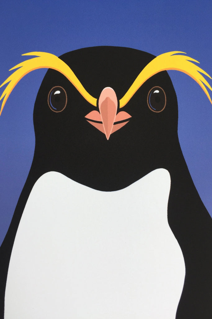 Crested Penguin Print
