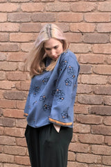Arabella Floral Embroidered Top Shirts + tops Ethical Sustainable Vegan Organic Australian fashion womens clothes