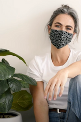 Fitted Cotton Australian Made Reusable Sustainable Face Mask