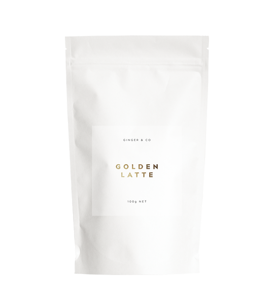 Golden Tumeric Latte Health foods The Fashion Advocate ethical Australian fashion designer boutique Melbourne sustainable clothes